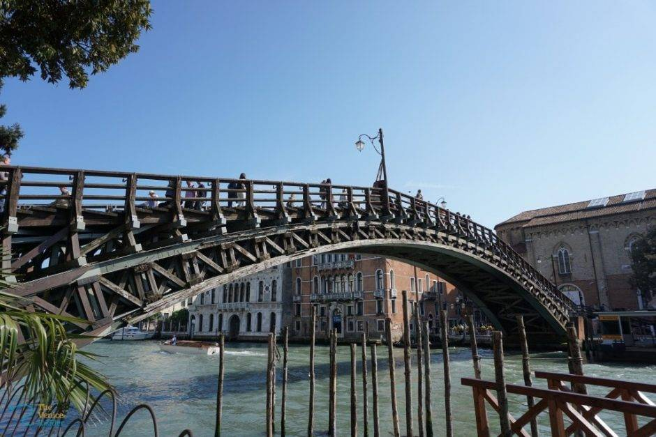The Changing Steps of The Accademia Bridge