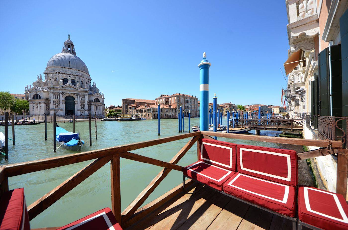 the Private Terrace on the Grand Canal is absolutely stunning!