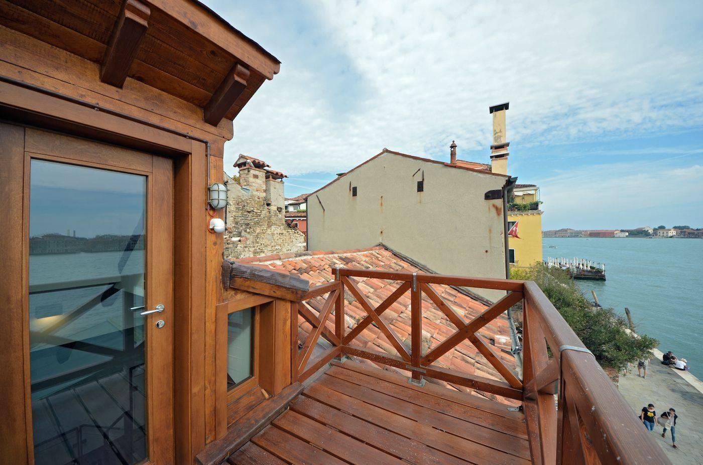 roof-top terrace of the Dolce Vita apartment