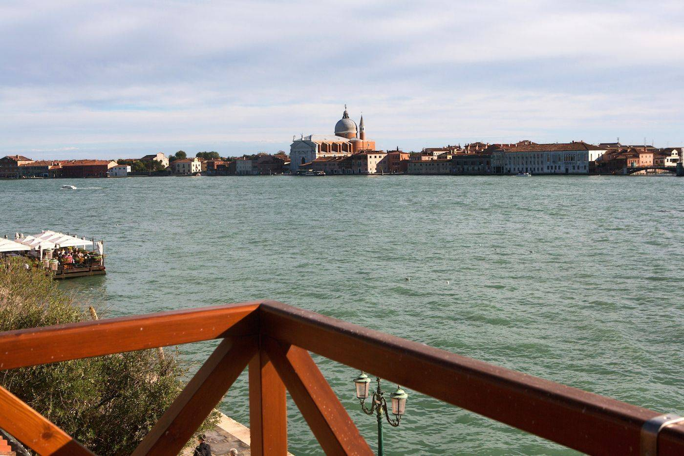 the stunning view enjoyable from the roof-top terrace of the Dolce Vita apartment