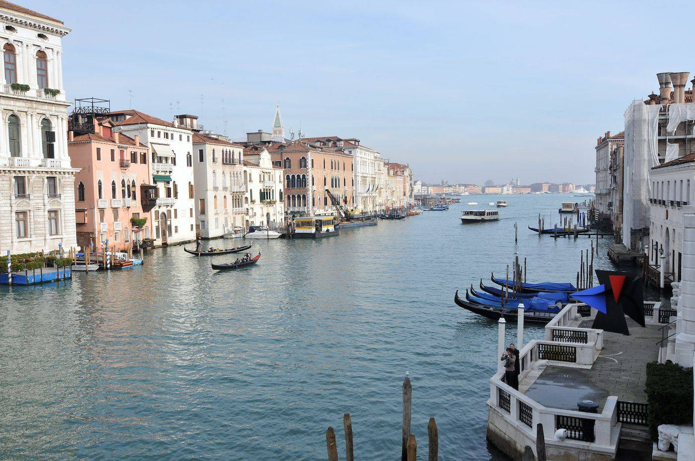prospectice on the Grand Canal from the master bedroom