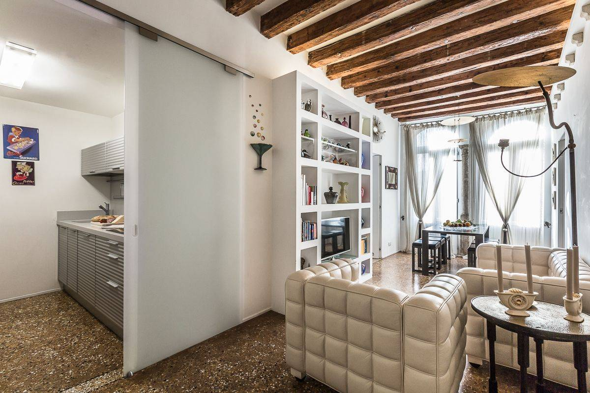 the Leonina is a charming designer apartment in historic palace