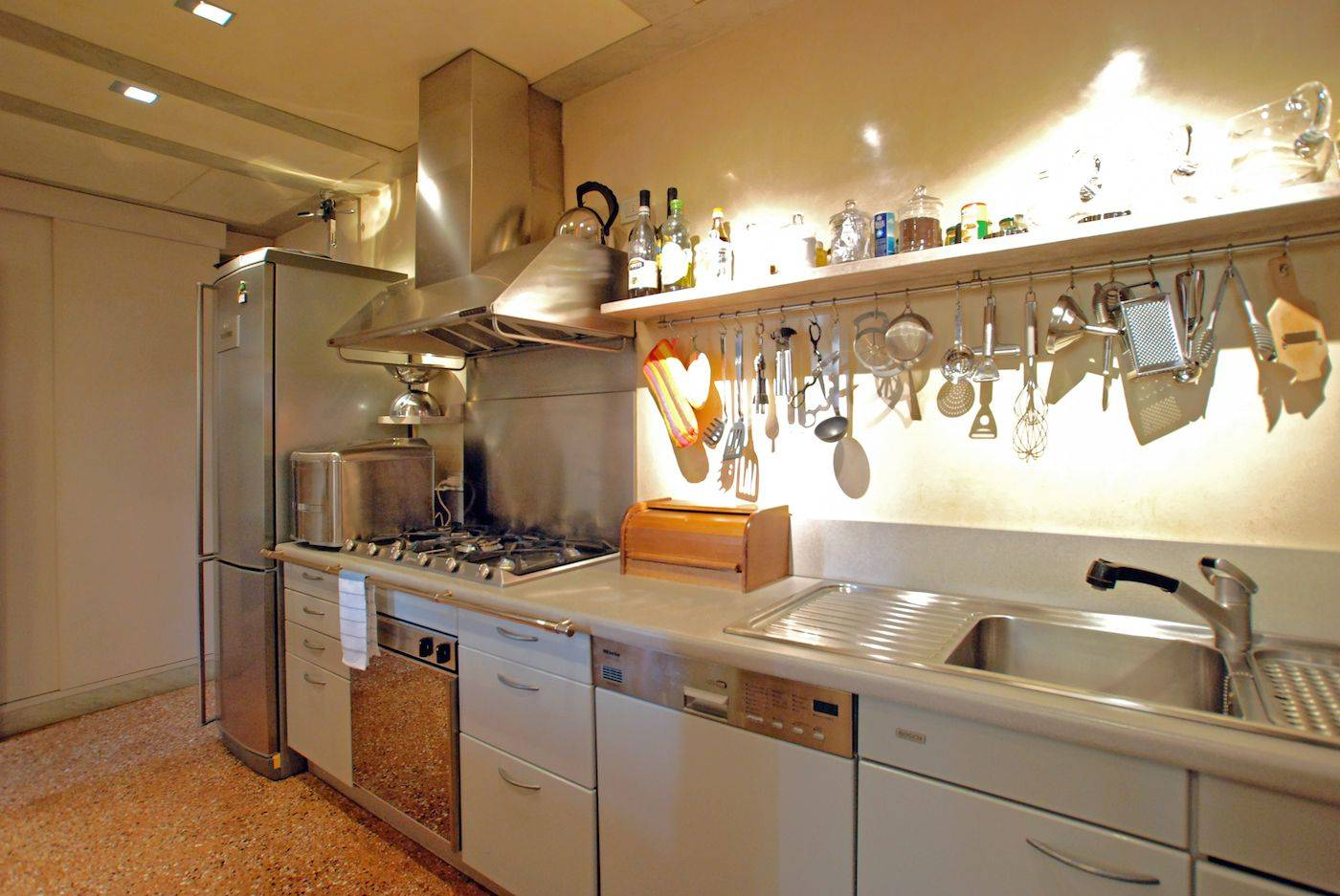 full optionals kitchen