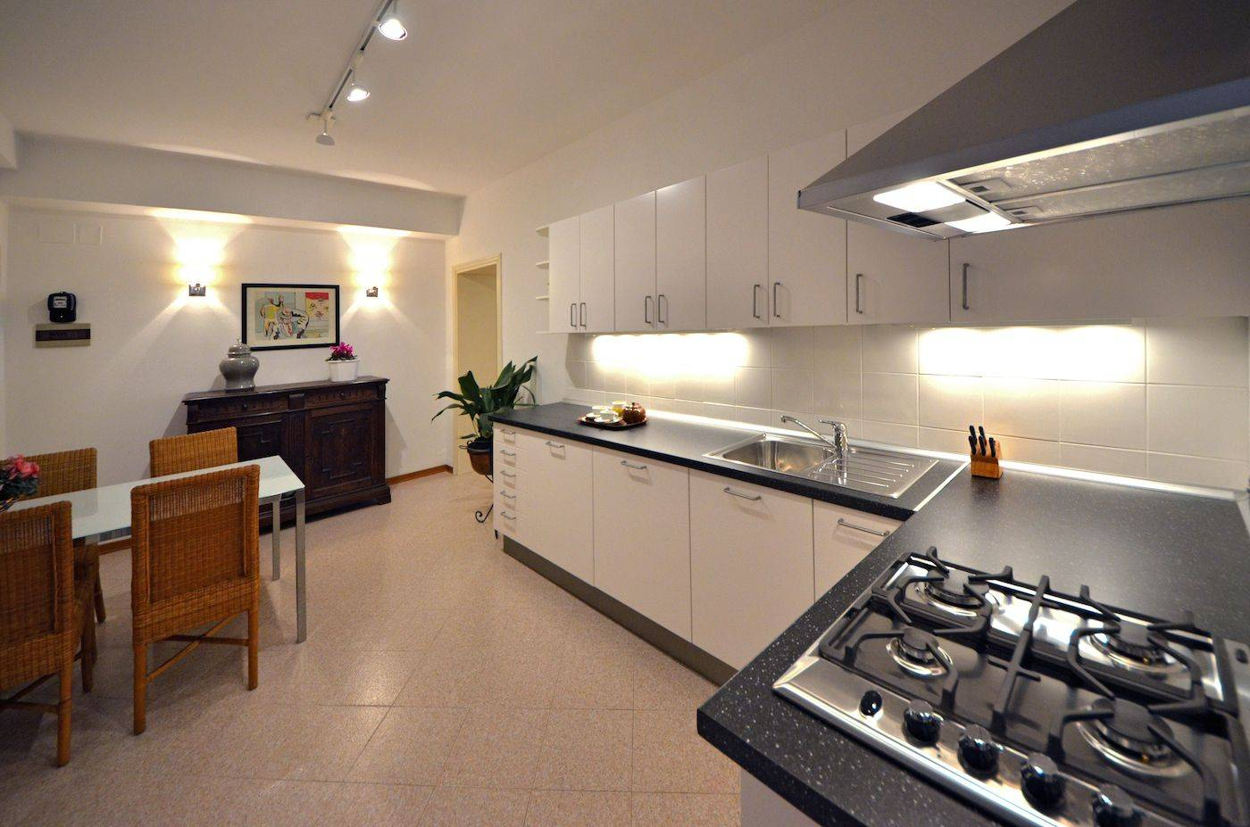 spacious kitchen with brand new appliances