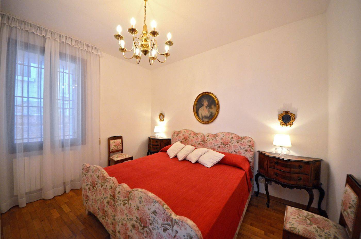 rezzonico suite double bedroom