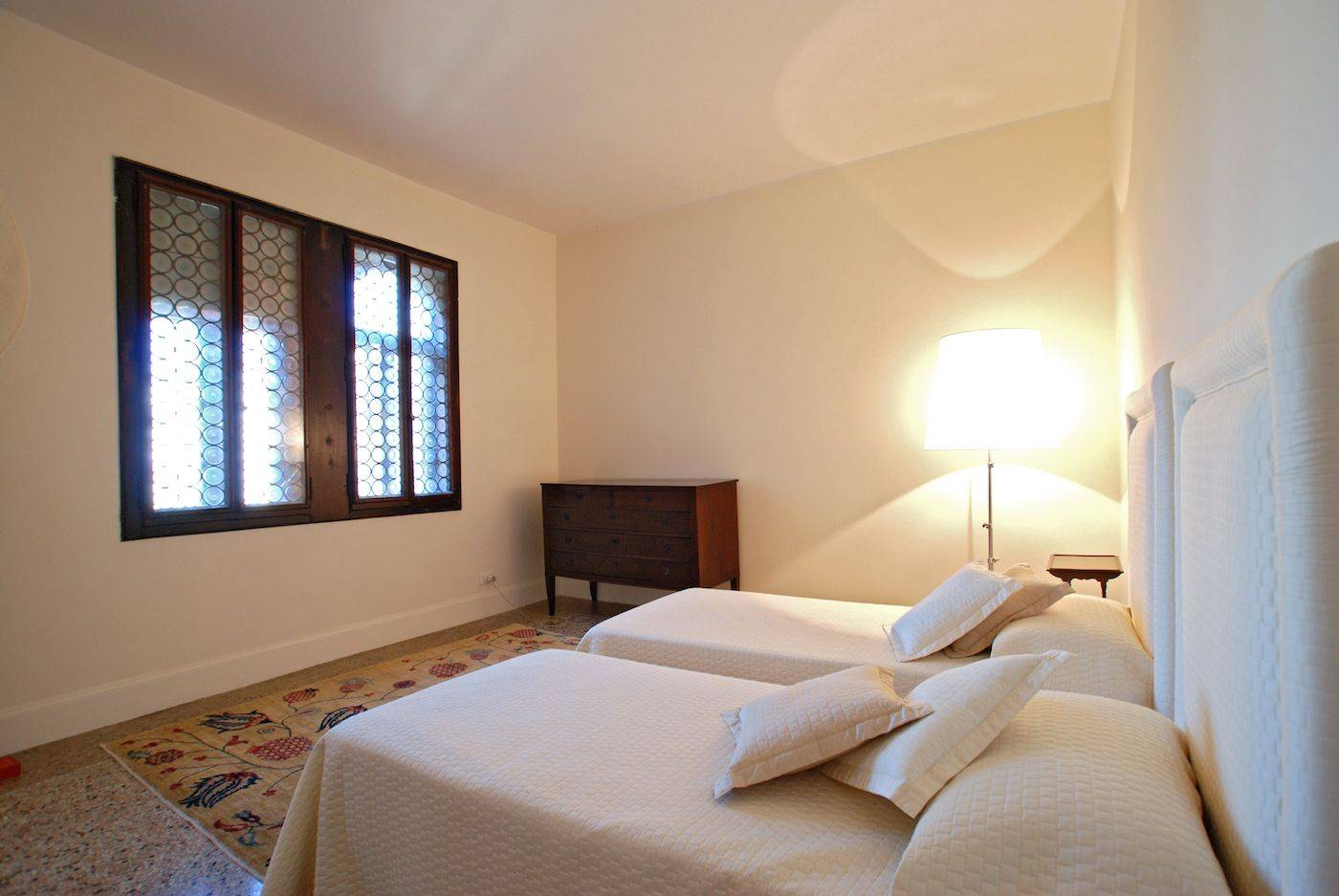 third bedroom with single beds