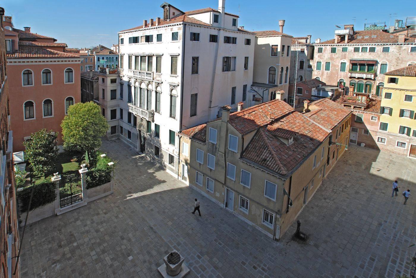 view from the third bedroom on Corte de l'Albero