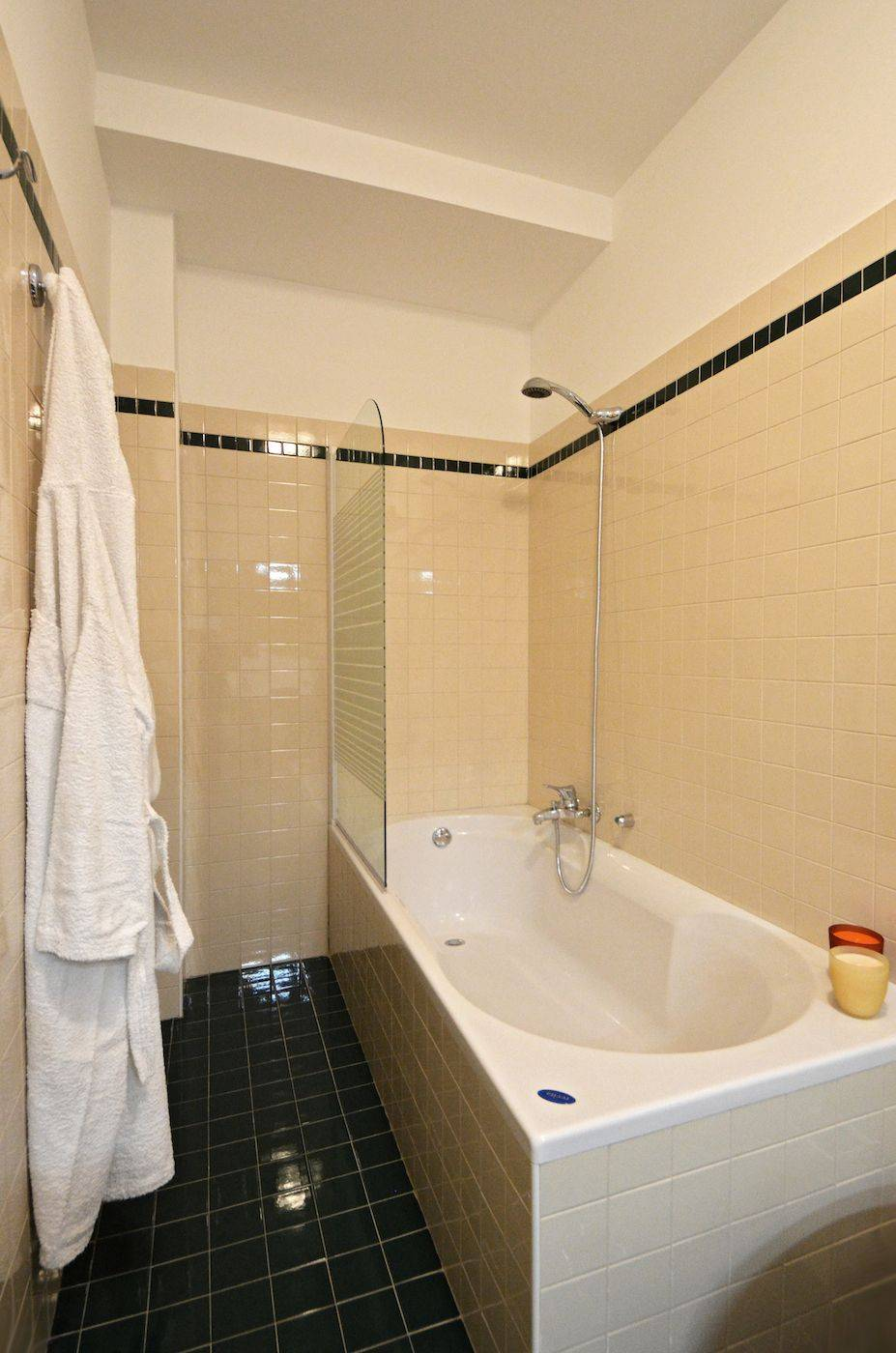 while the master bathroom has a bathtub and give access to a walk-in wardrobe