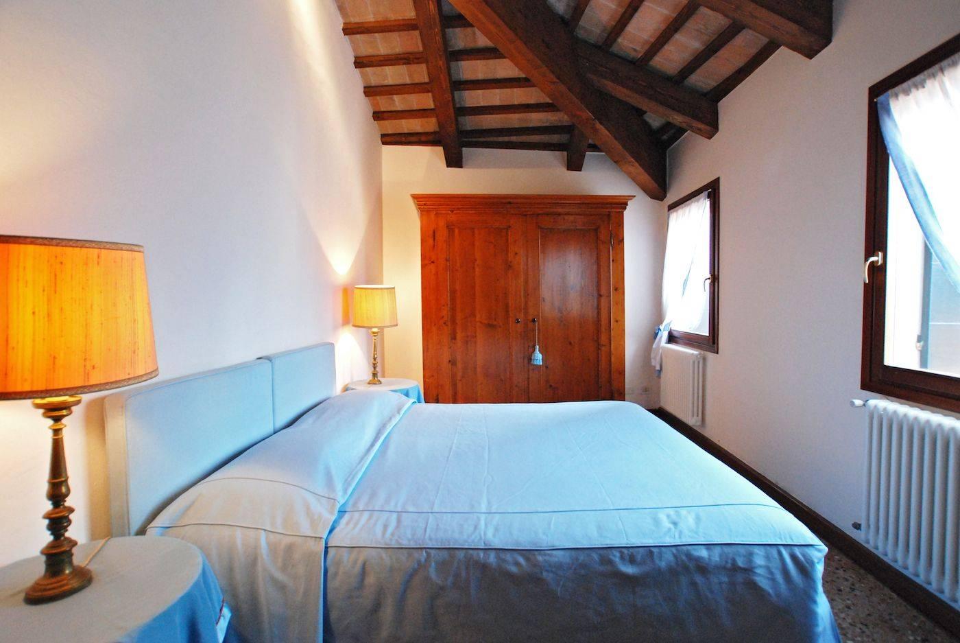 Greci's double bedroom