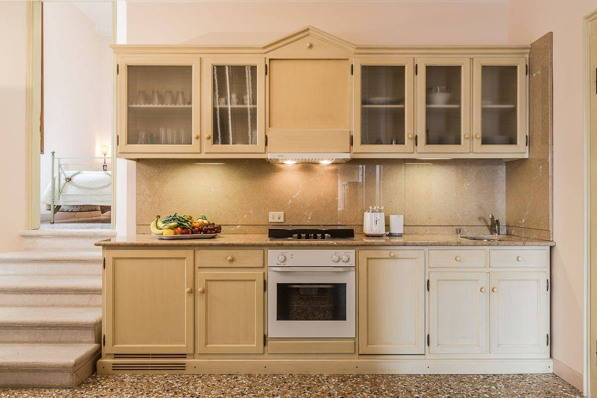 nice marble top kitchen with new appliances