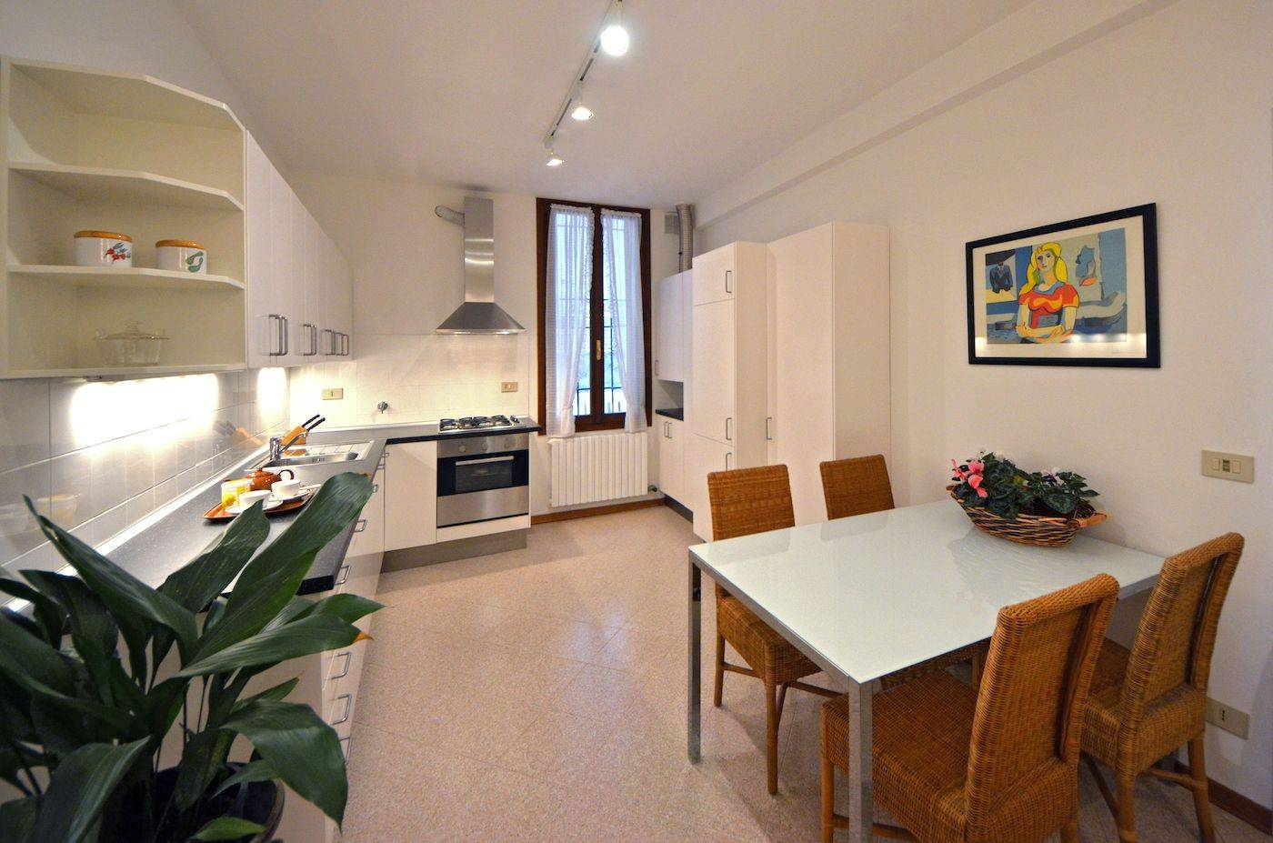 spacious kitchen with brand new appliances