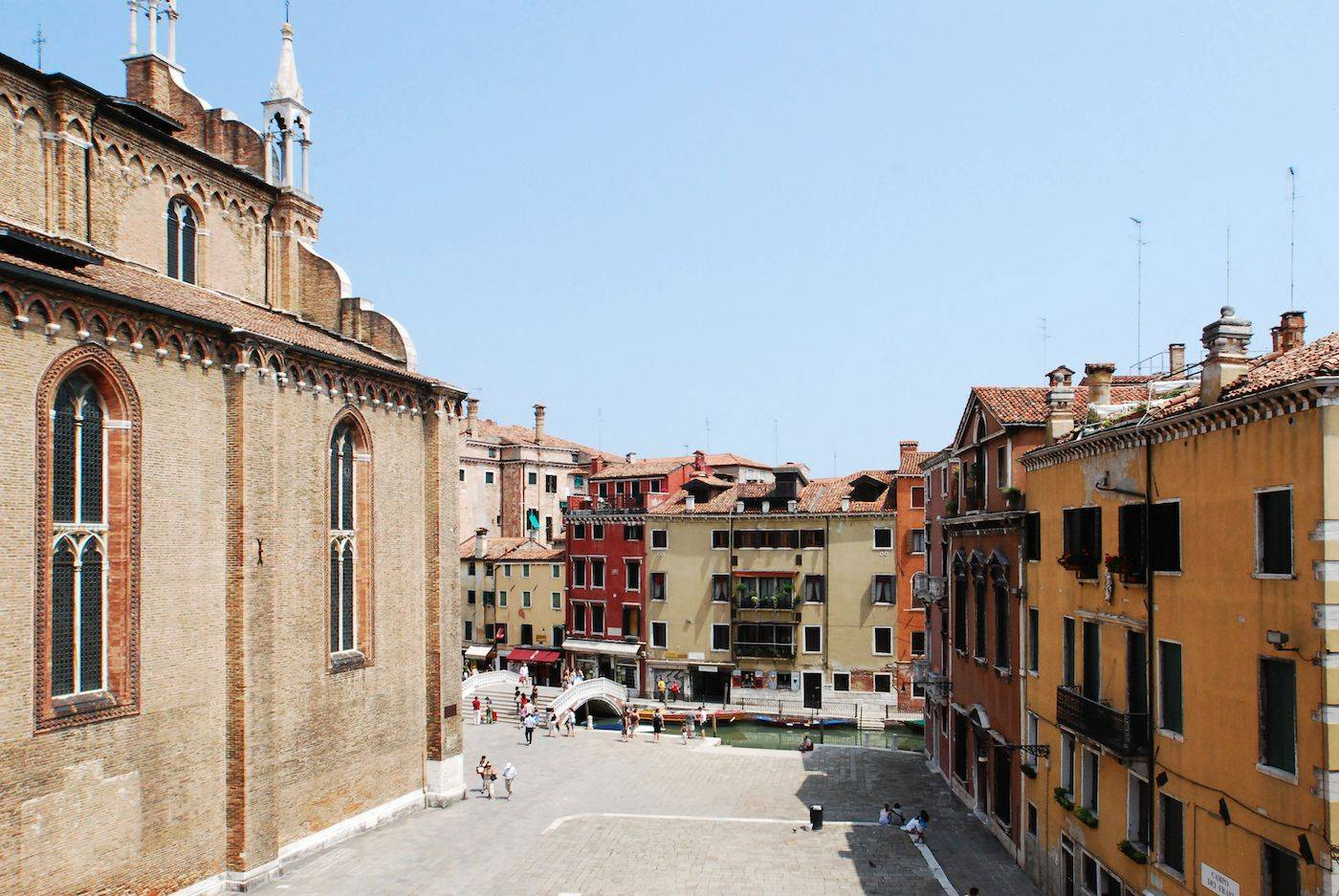 Frari Apartment Venice, view from the living room