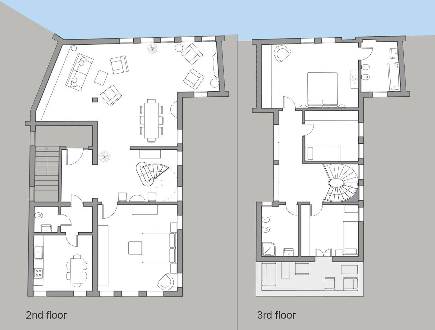 Angelo Gabriele floor plan
