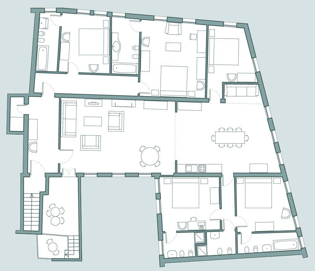 Bellini floor plan