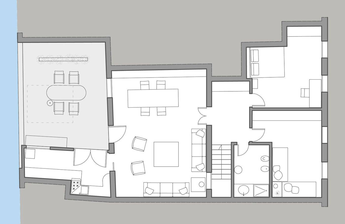 Biennale Terrace floor plan