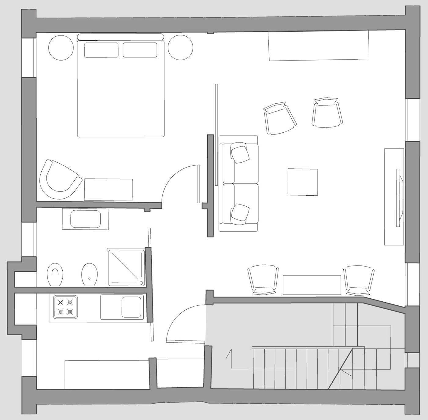 Foscolo floor plan
