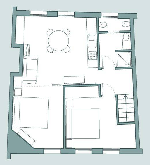 Frari floor plan