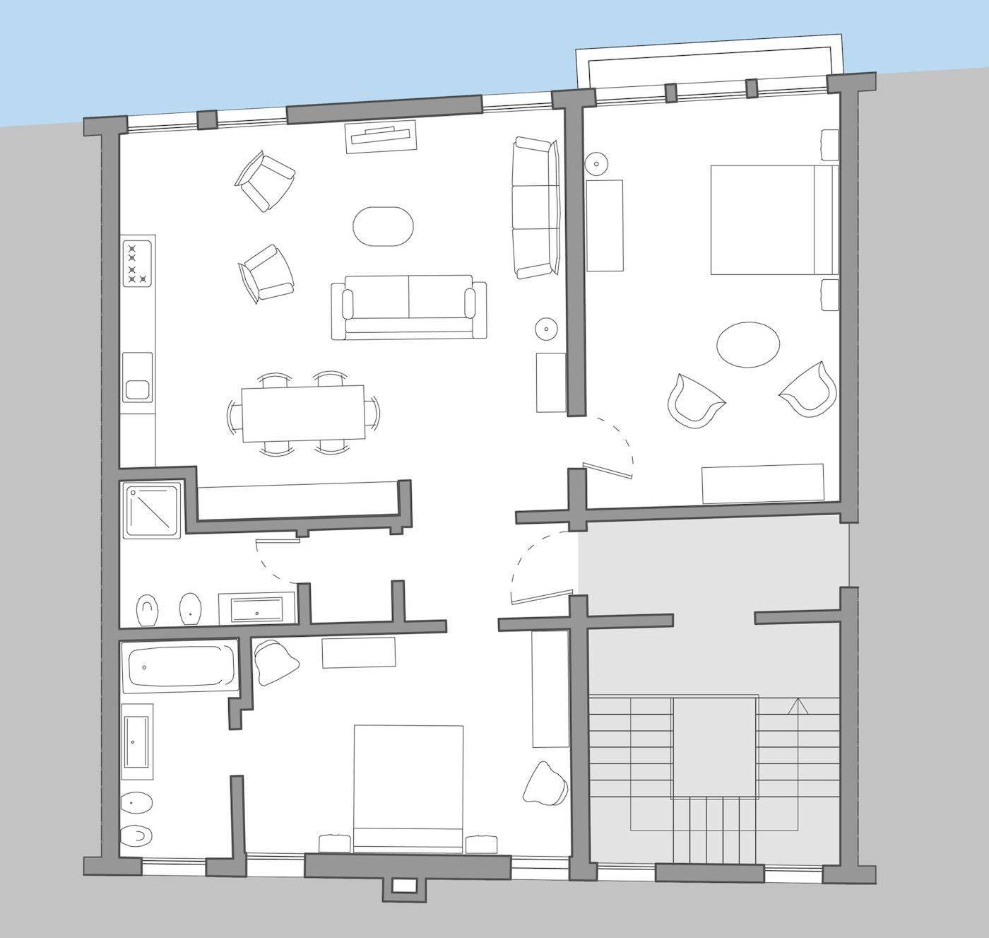 Giorgione floor plan