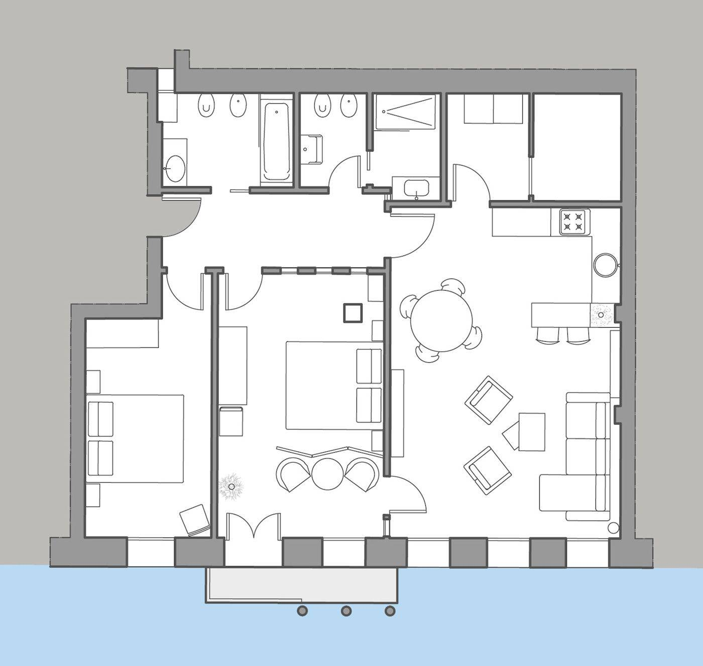 Miranda floor plan