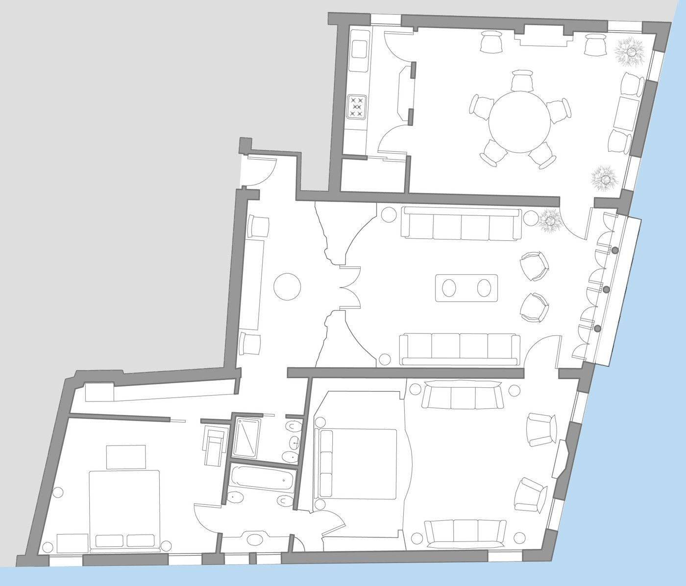 Morosini floor plan