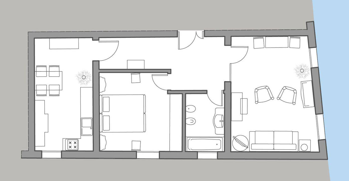 Rezzonico Suite floor plan