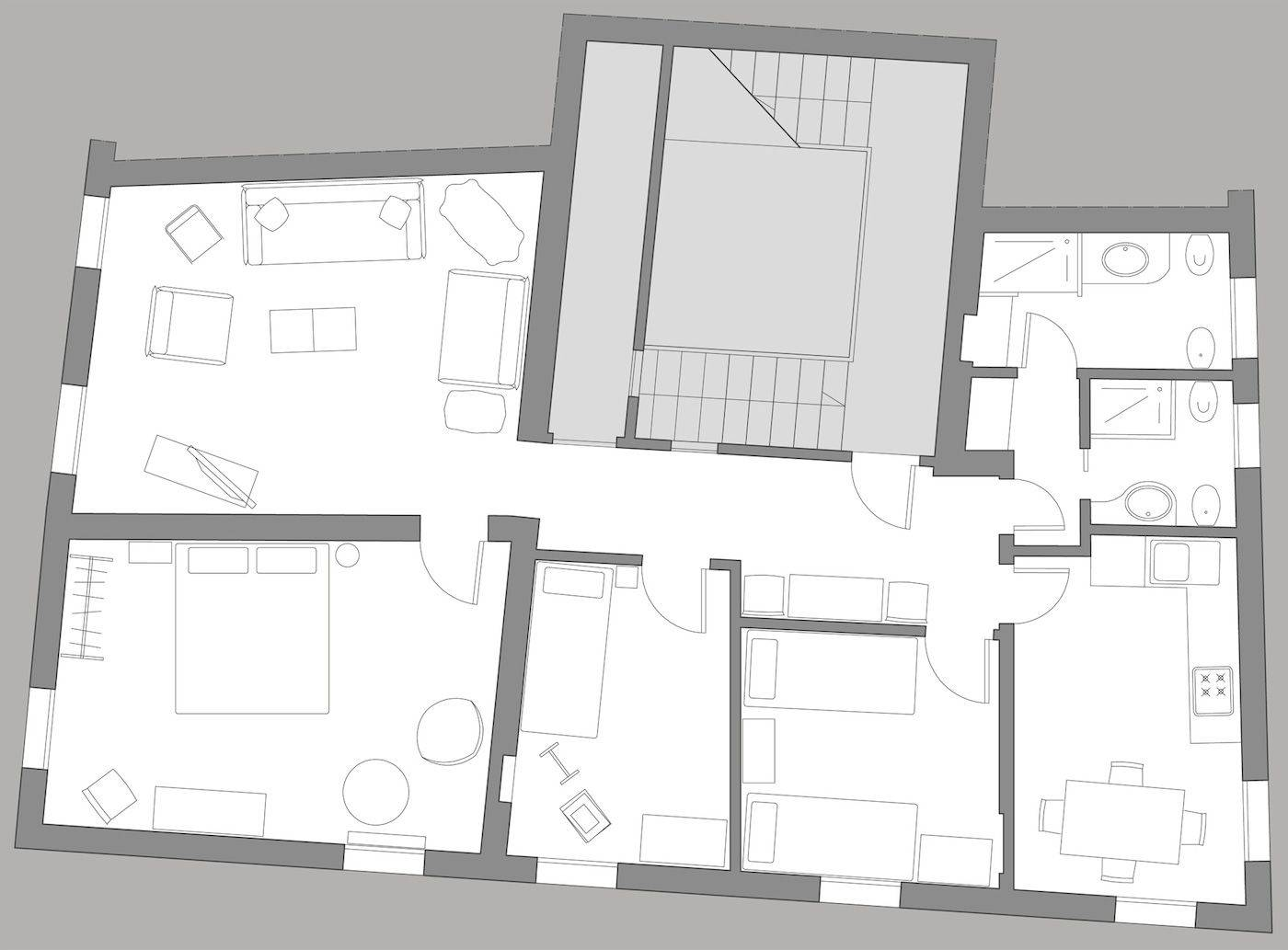 San Bortolo floor plan