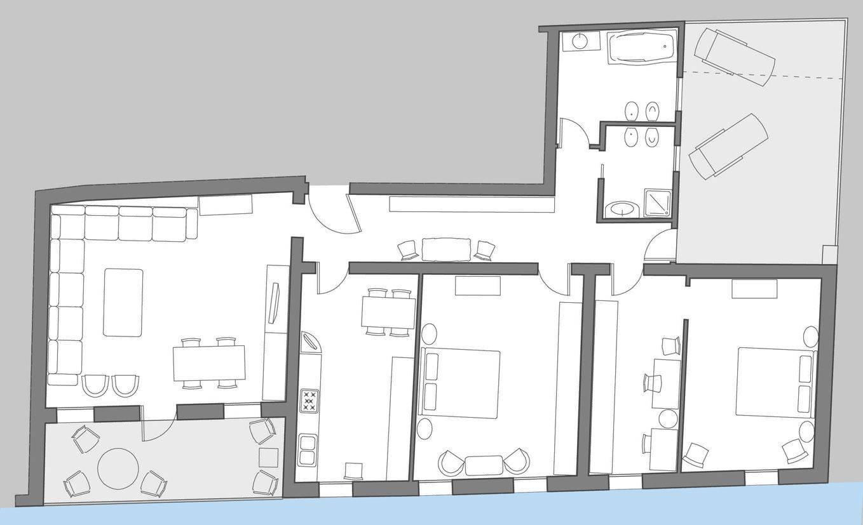 San Felice Terrace floor plan