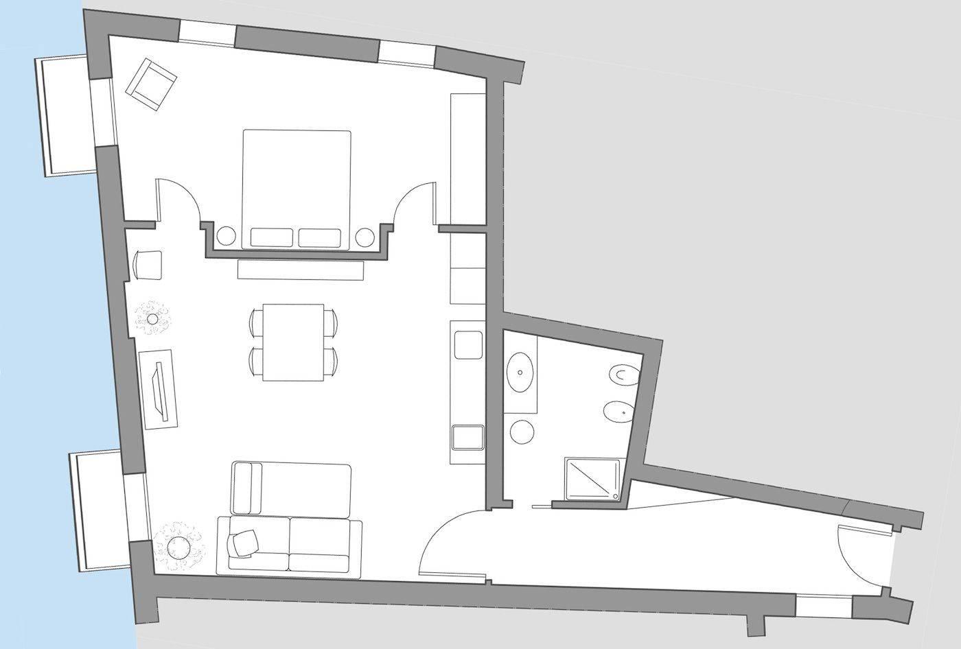 San Lorenzo floor plan
