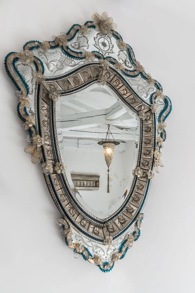 with antique mirror