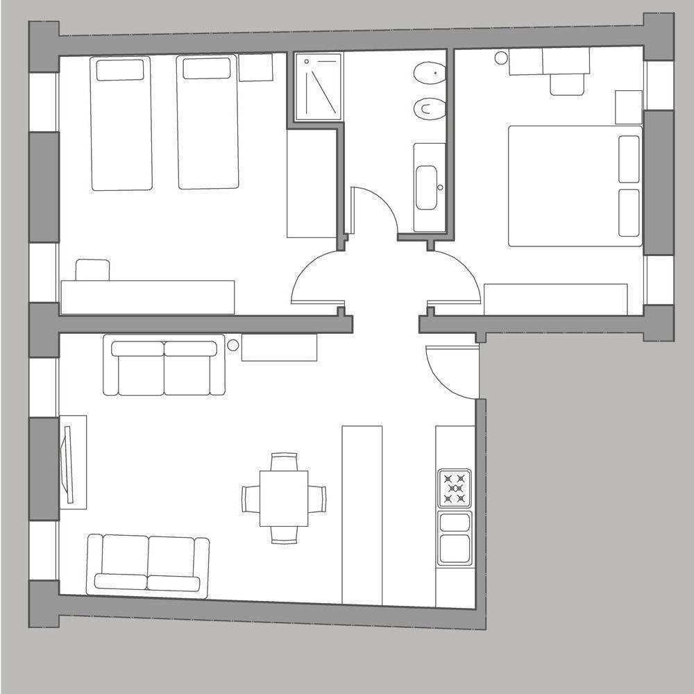 Sarpi 1 floor plan