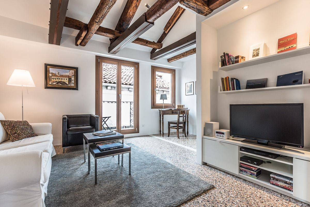 living room of Guardi apartment