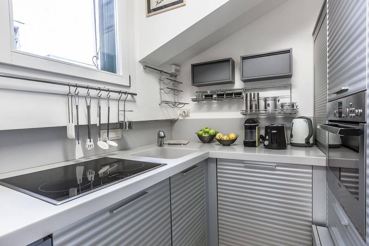 kitchen of the Leonessa apartment