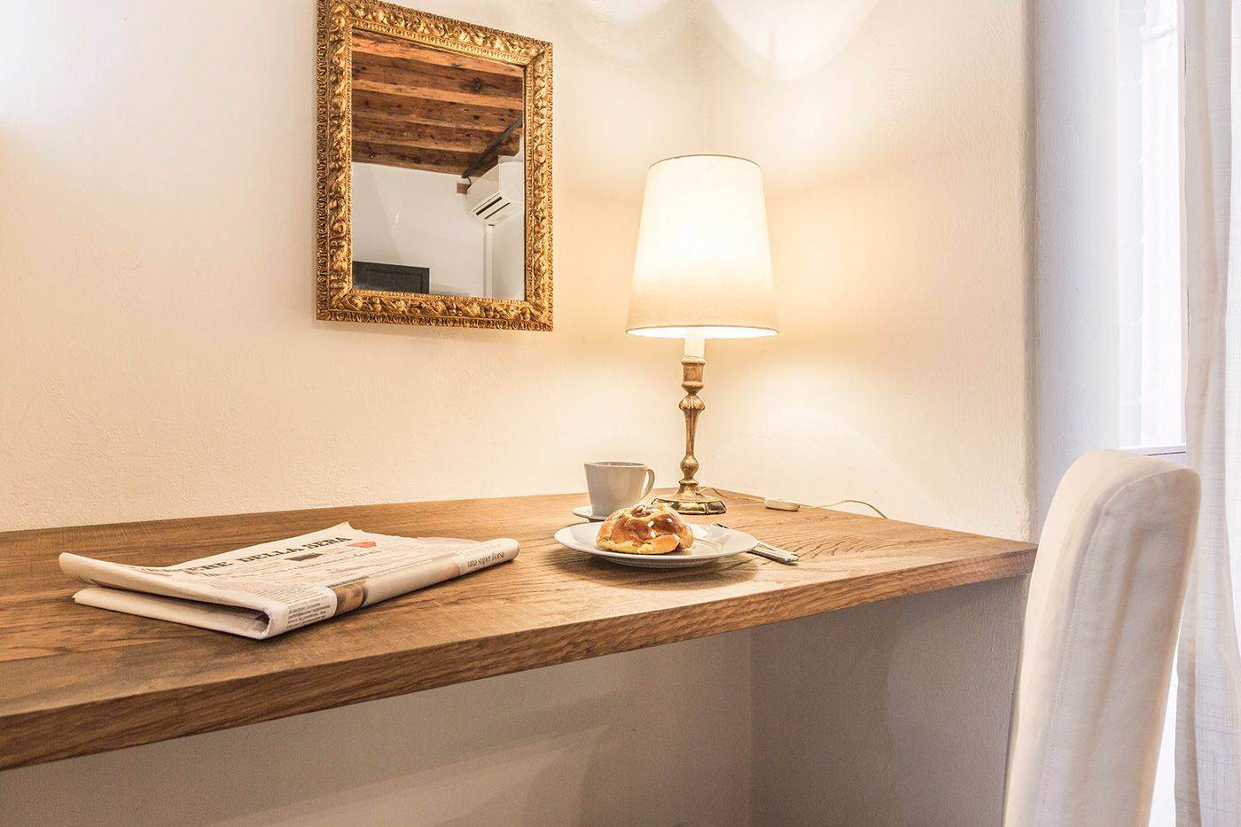 enjoy your breakfast at home at the Alba d'Oro apartment!