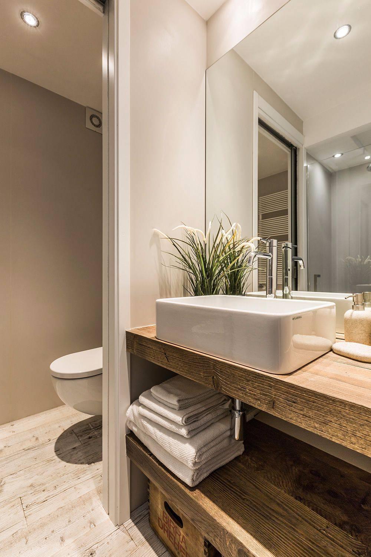 luxury bathroom with shower