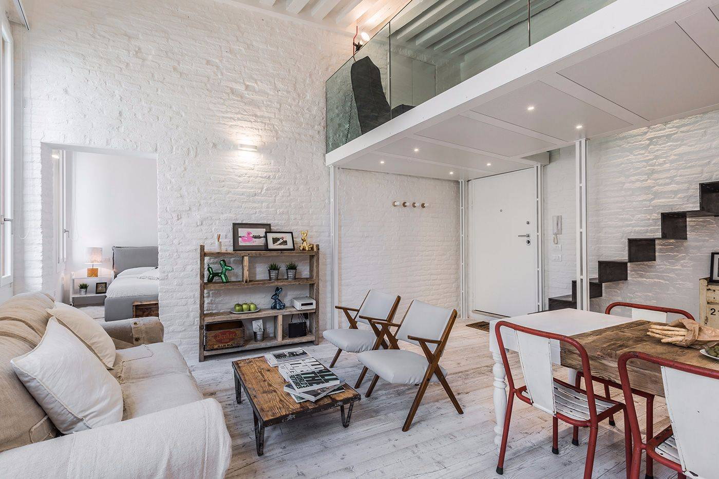the Bernini apartment is a great example of contamporary design