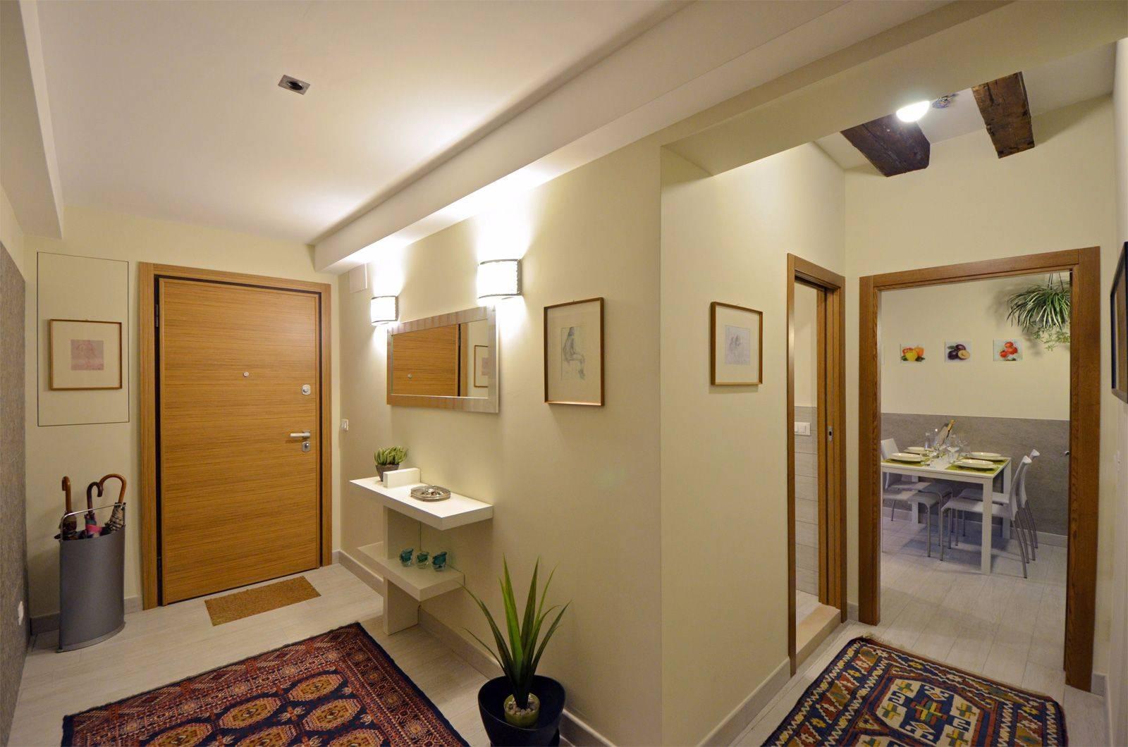 entrance of the Cà Pesaro Suite