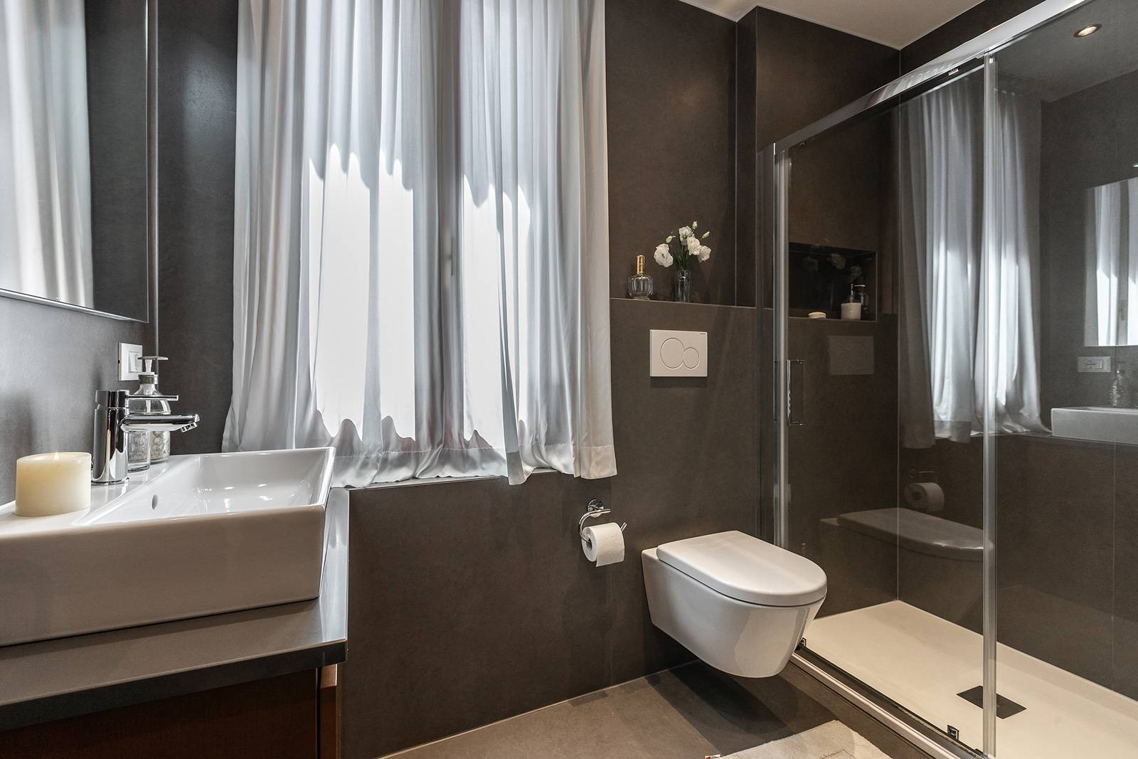 larger luxury bathroom