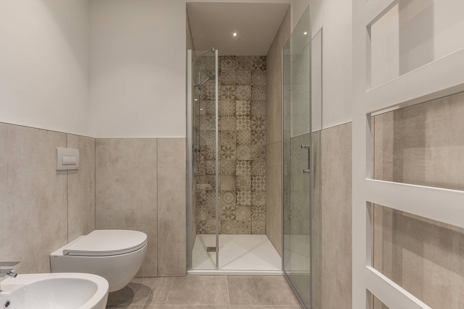 luxurious second bathroom