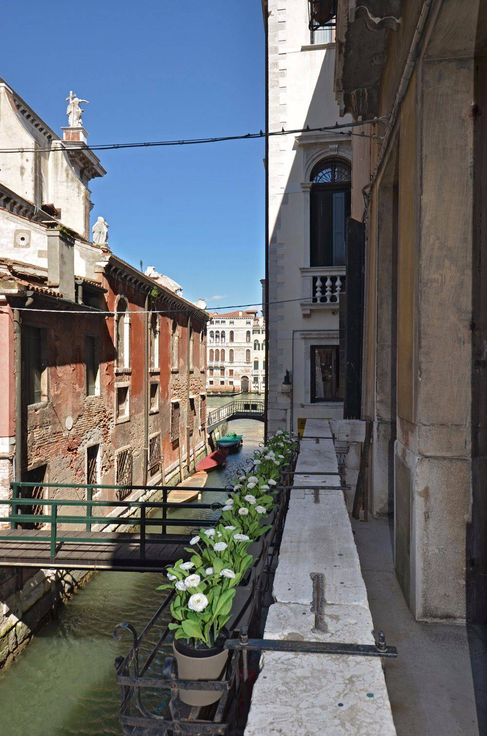 picturesque canal view enjoyable from the balcony