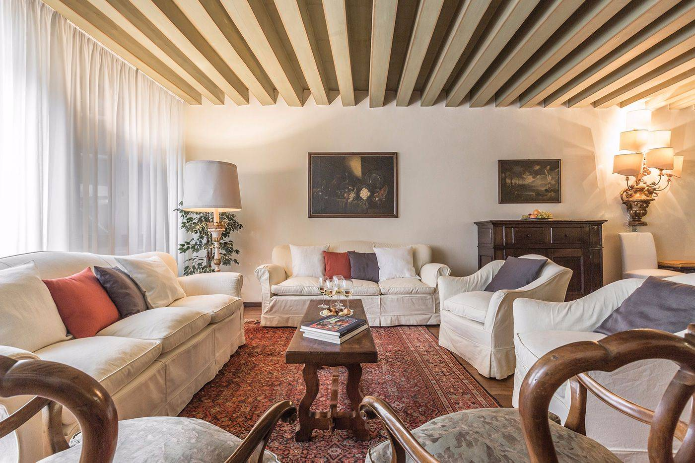 gather up your loved ones around the cozy Michiel living room