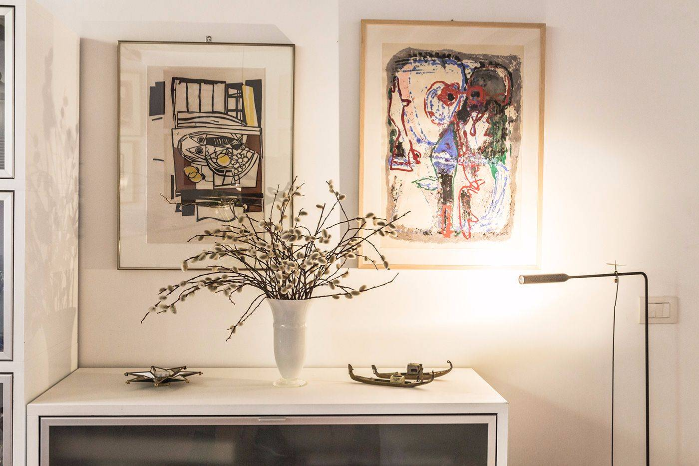 you can find refined interior details in every corner at the Foscarina