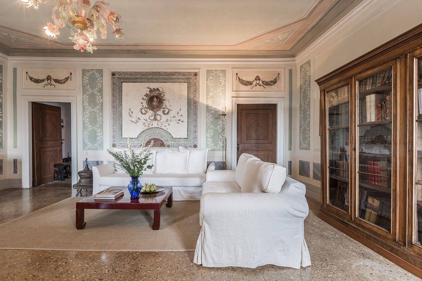 luxury furnishings and bright ambience