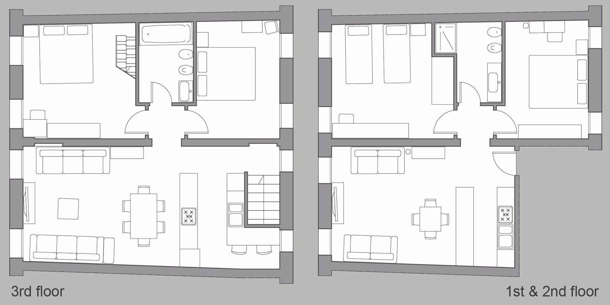 Sarpi Premium floor plan