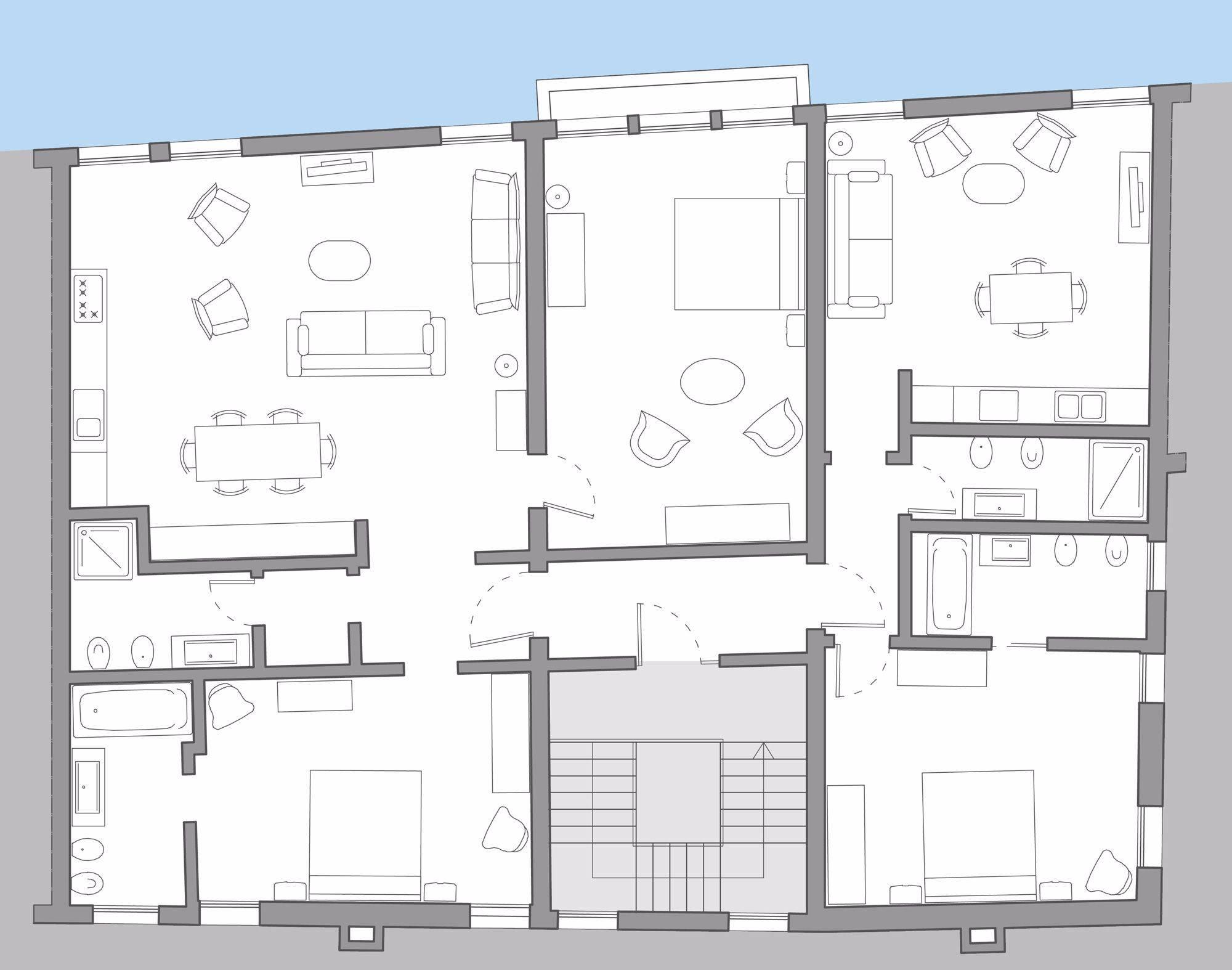 Giorgione Premium floor plan