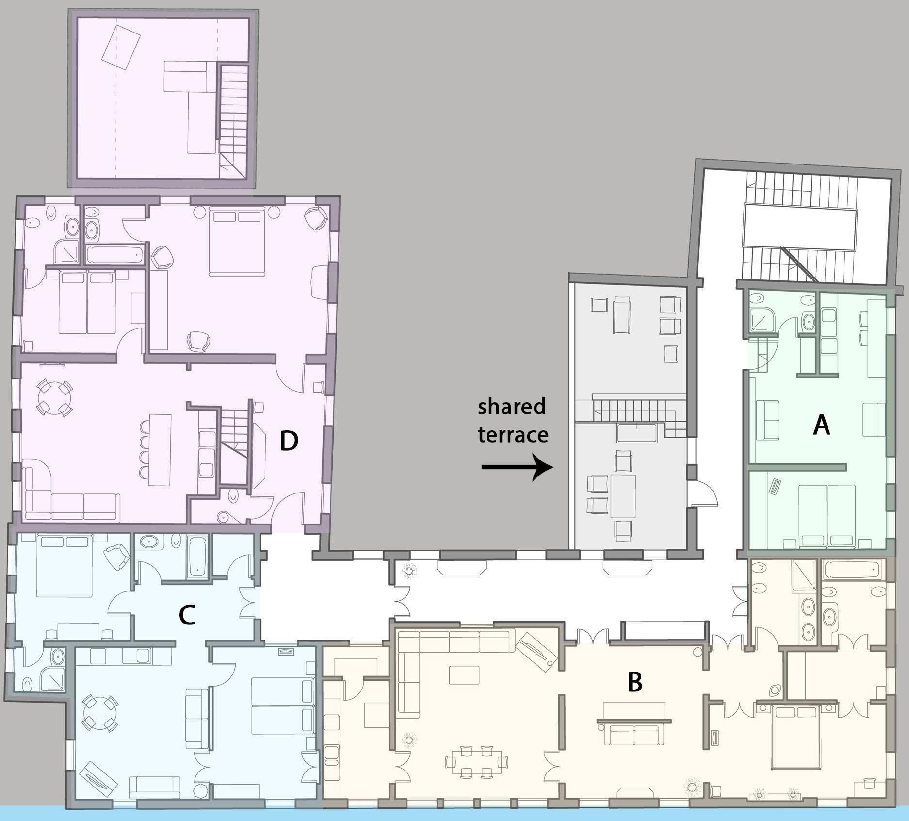 Palazzo Alighieri floor plan