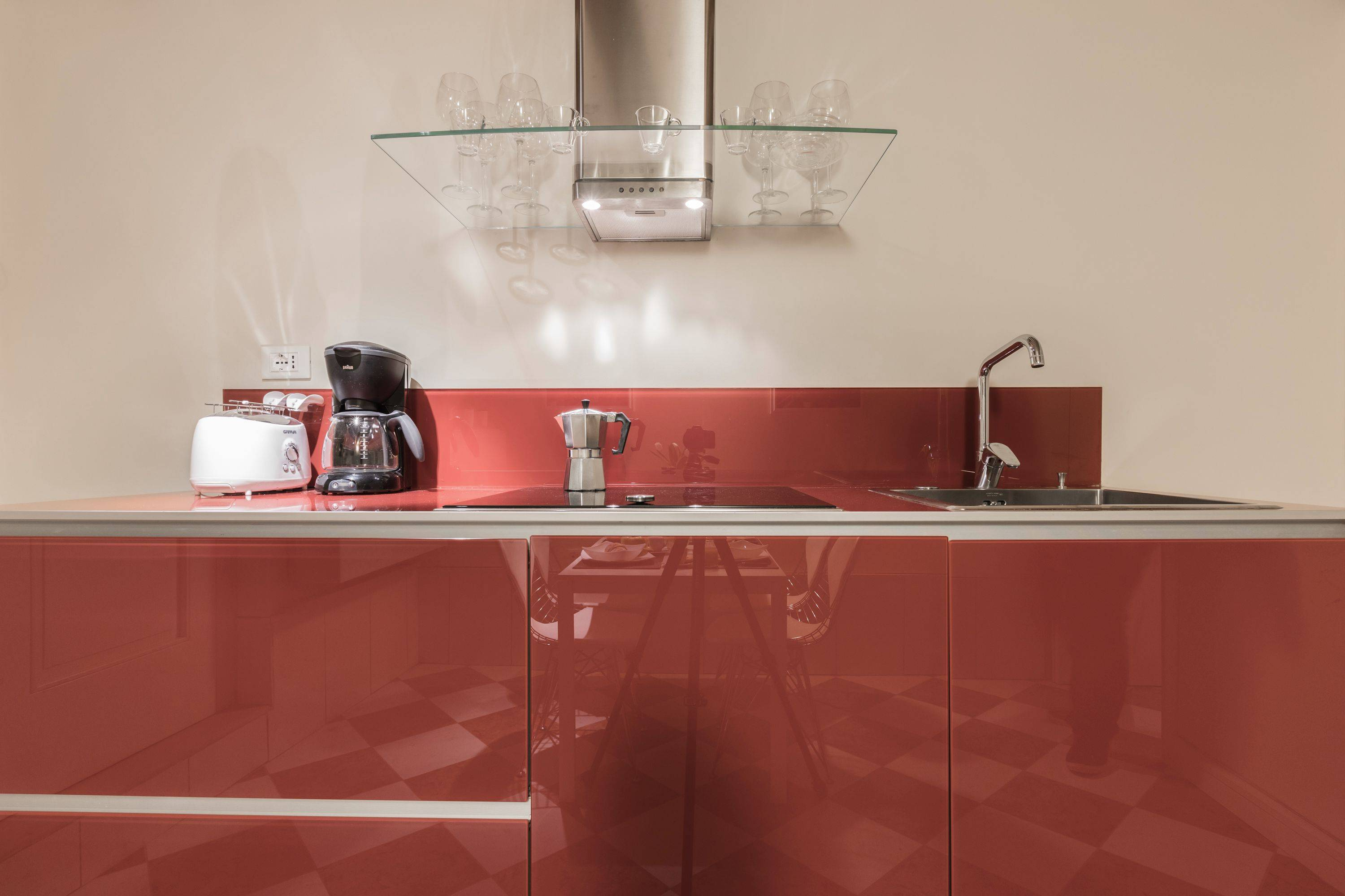 functional and well equipped kitchen