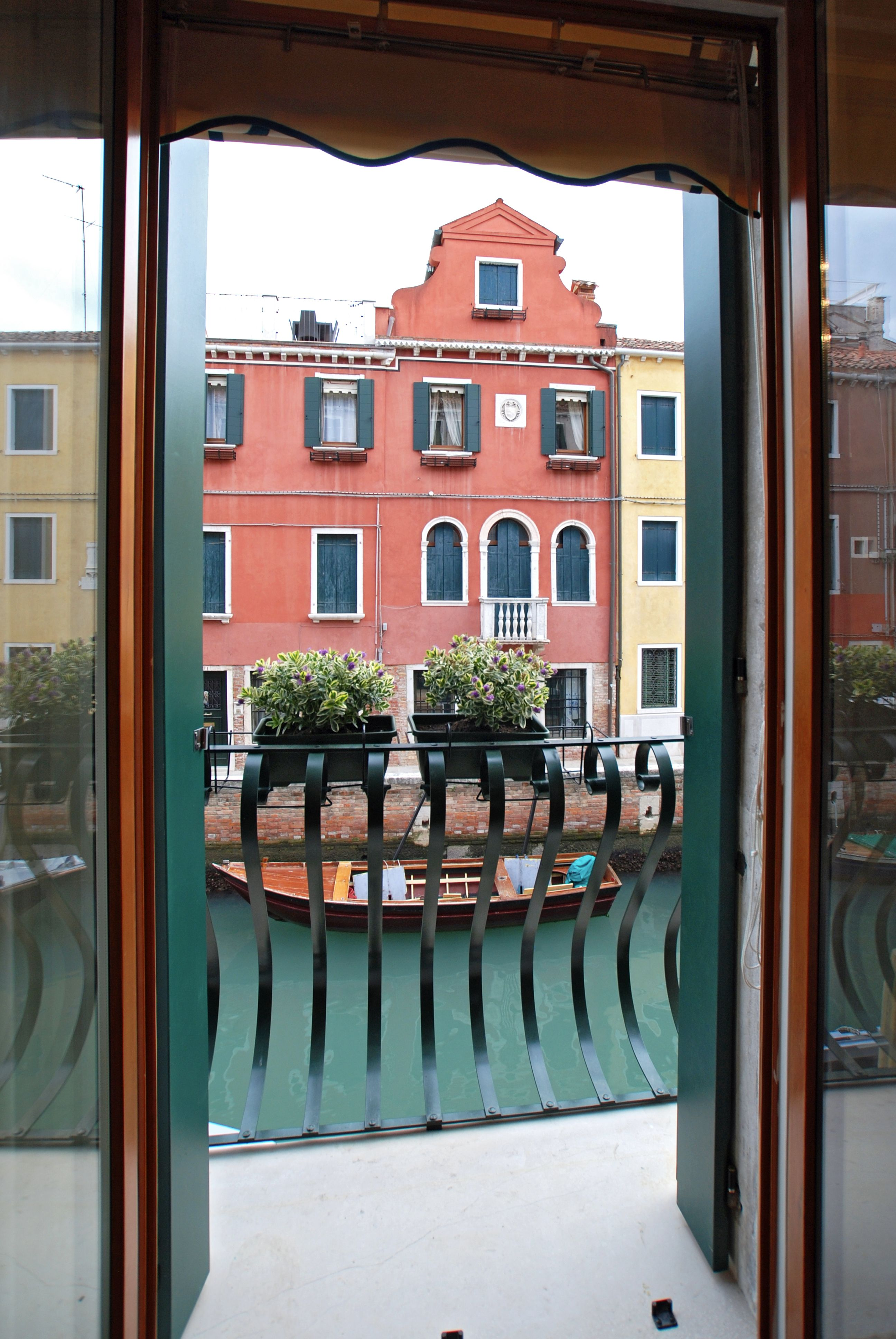 enjoy the most picturesque canal view from the balcony