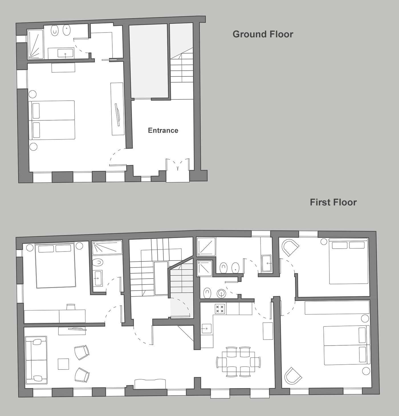 San Trovaso Prestige floor plan