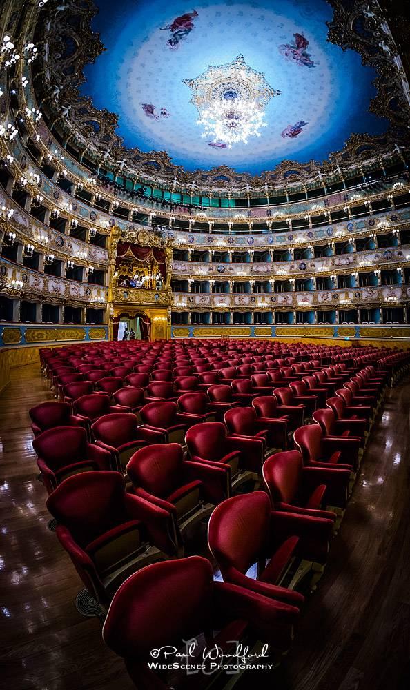 Teatro La Fenice - photo sourced on: www.widescenes.com