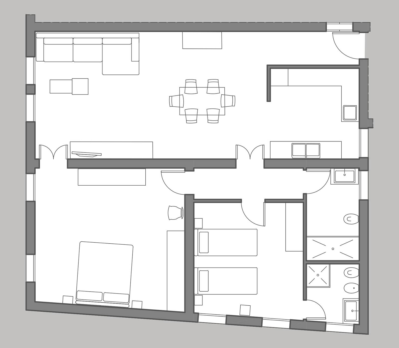 Madama Butterfly floor plan